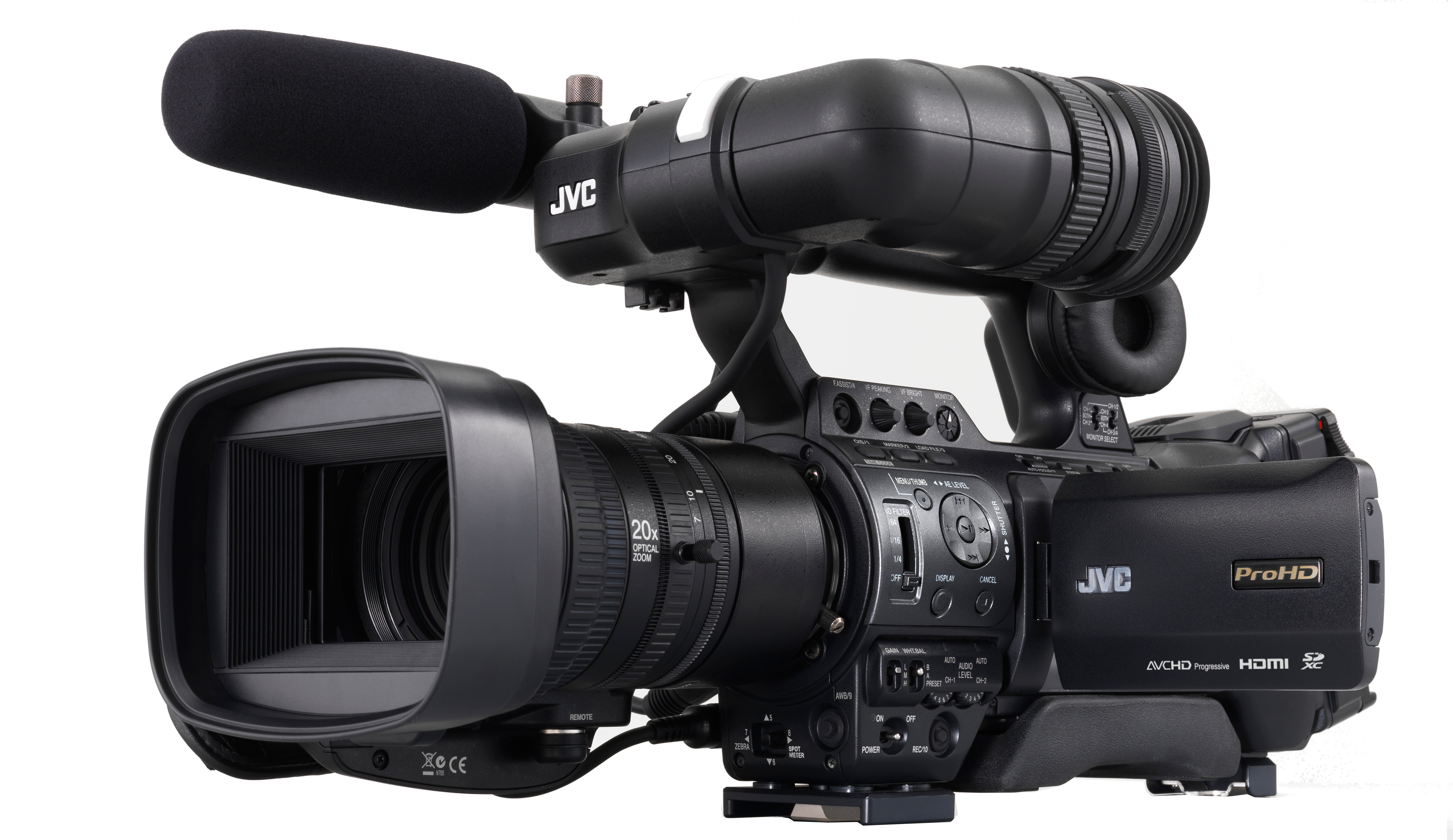 Jvc news release glad tidings church upgrades to full hd for Camera camera camera