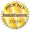 Pick Hit 2009 award