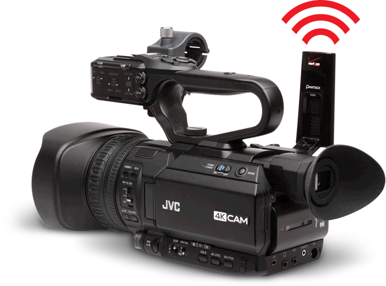 Workhorse jvc for Camera streaming live