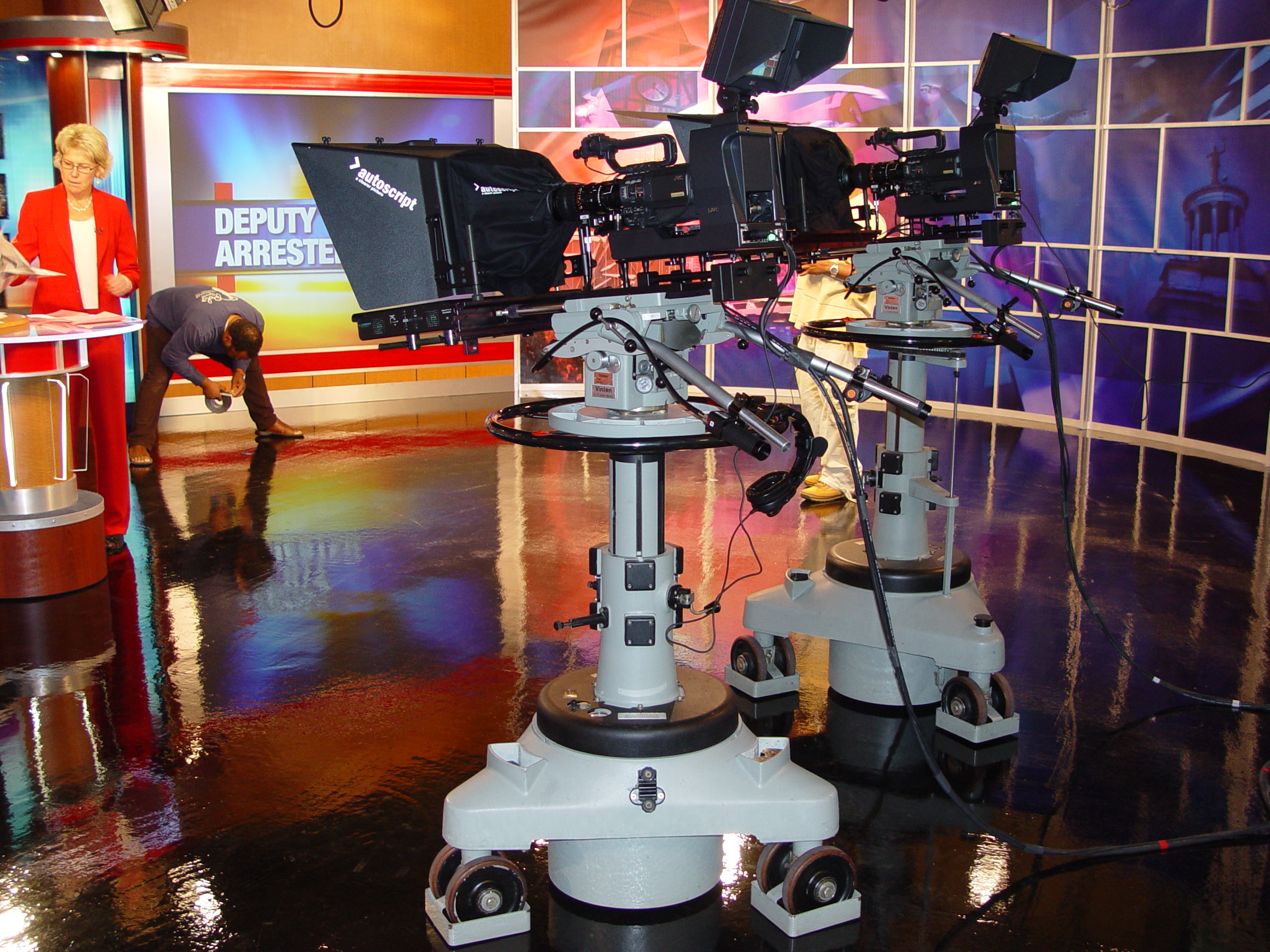 Wkrc cincinnati adopts jvc studio cameras - Tv in camera ...