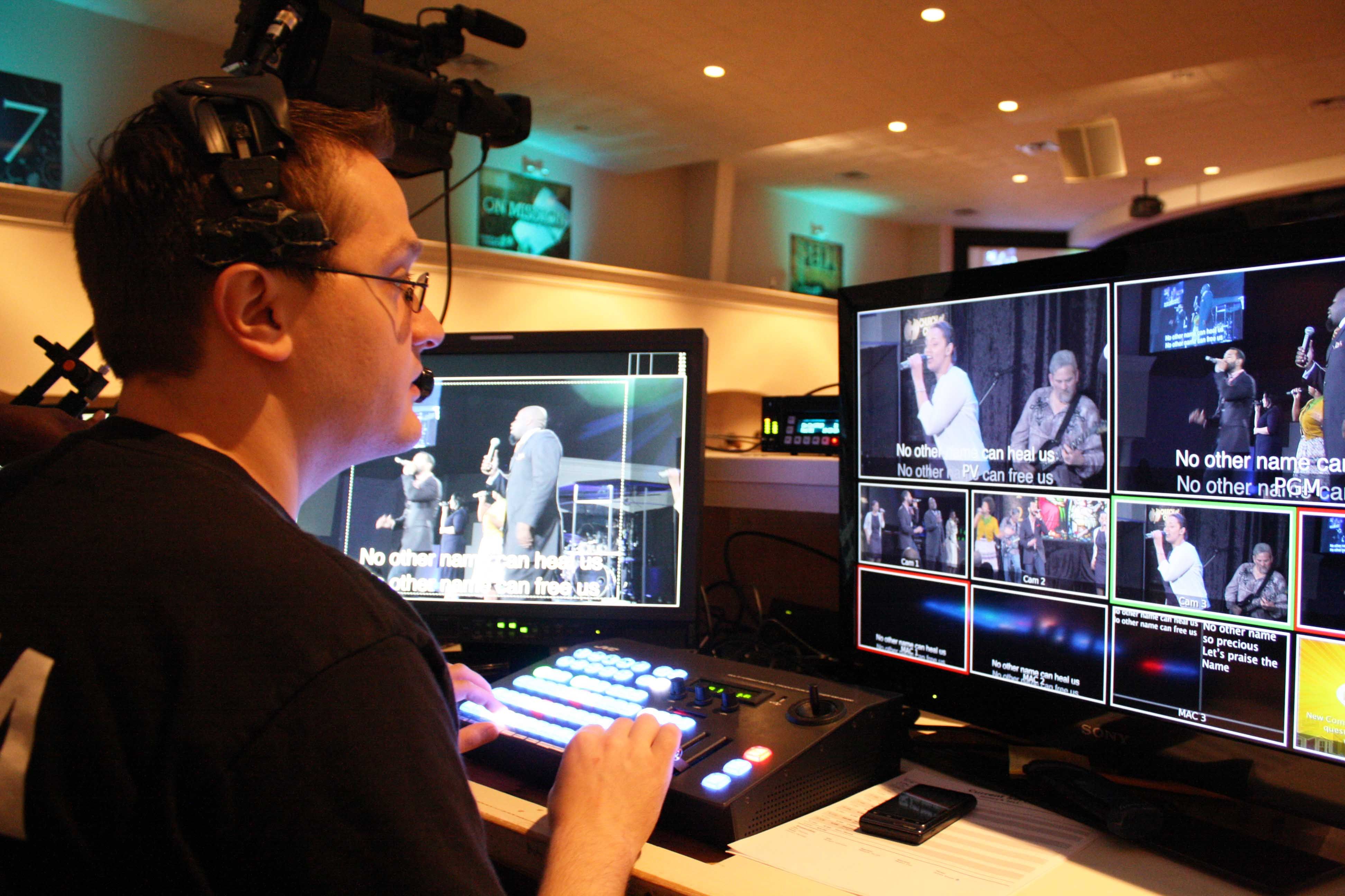 Jvc News Release Church Of Champions Relies On Jvc Prohd