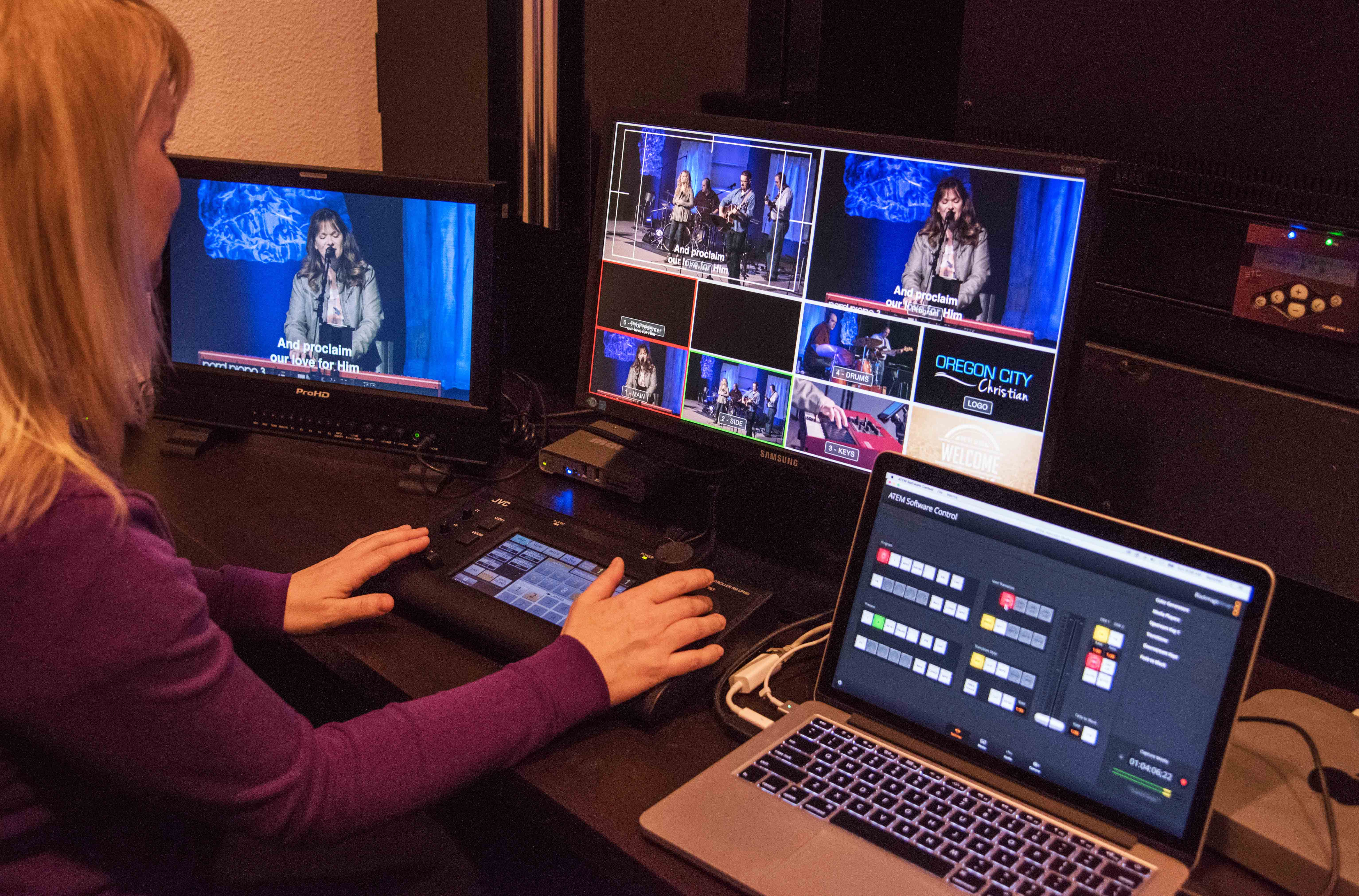 Jvc News Release Jvc Ptz System In Use By Oregon City