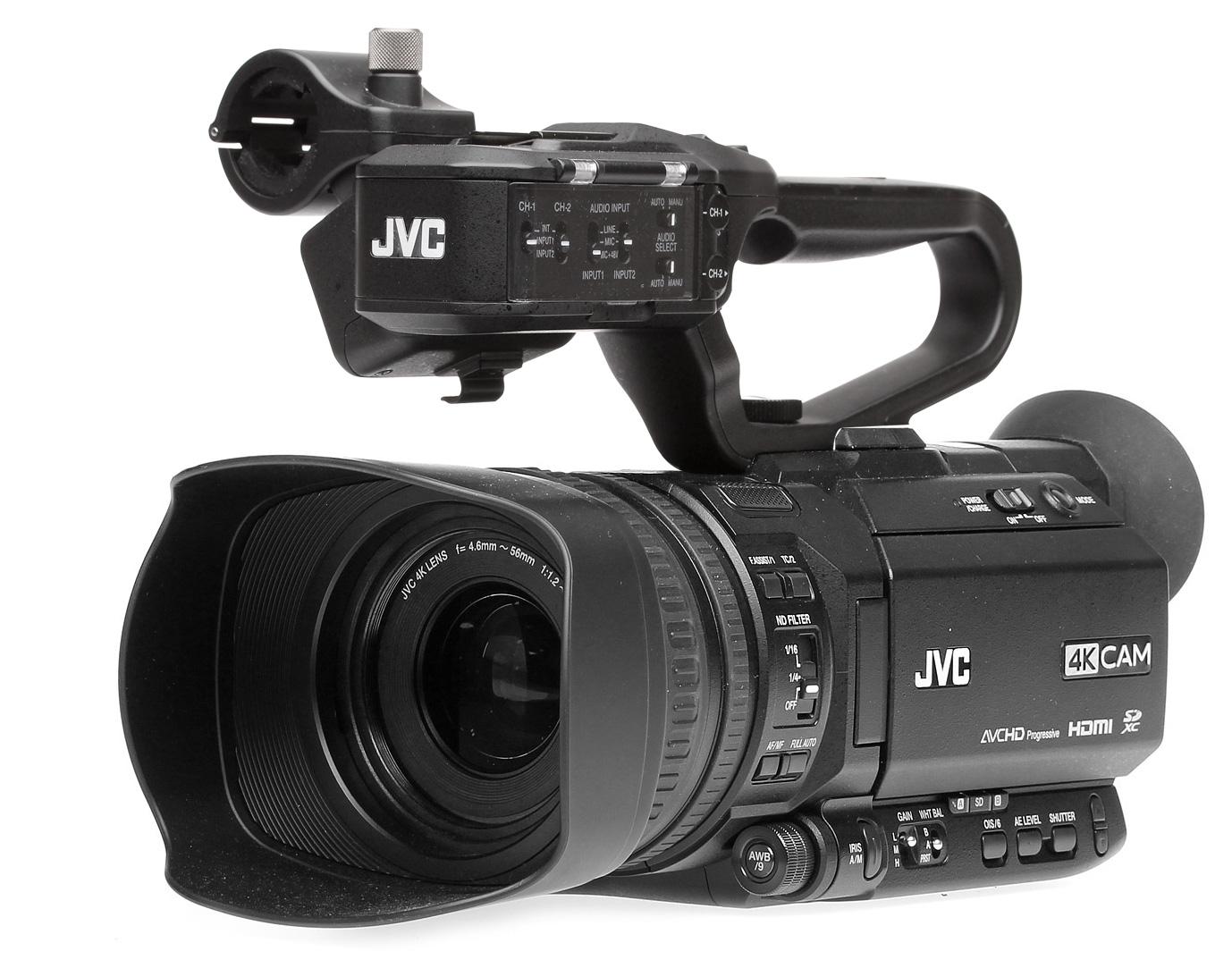 JVC News Release -- NAB 2018: New 4KCAM cameras offer ...