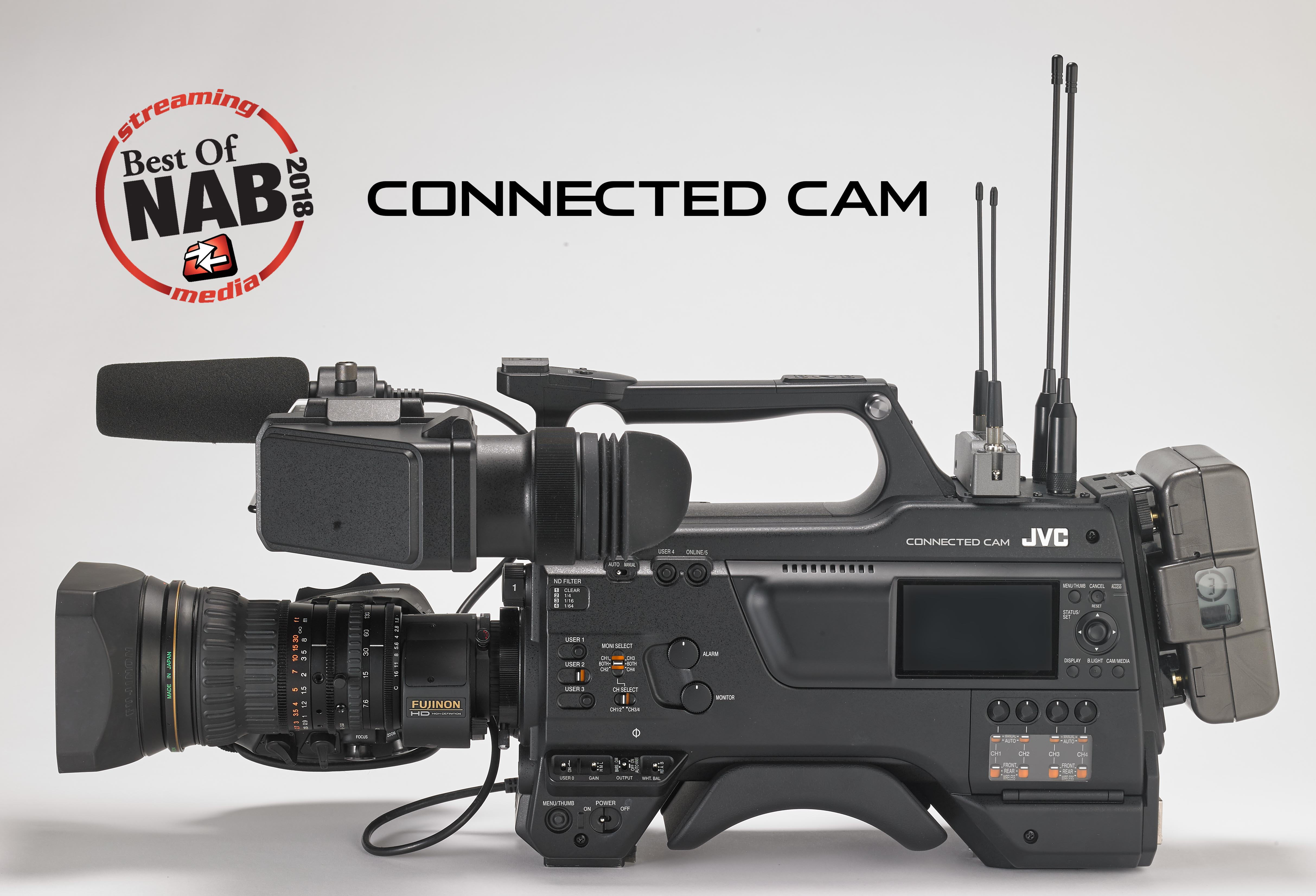 JVC News Release -- CONNECTED CAM named Best of NAB 2018 by