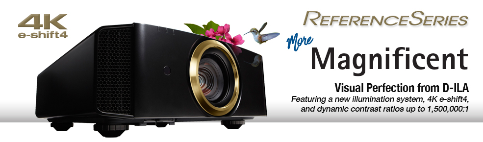 JVC Reference Series Projectors Promotion